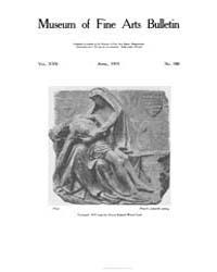 Museum of Fine Arts Bulletin : 1919 Apr.... Volume Vol. 17 by