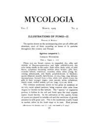 Mycologia : 1909 Mar. No. 2, Vol. 1 Volume Vol. 1 by