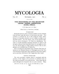 Mycologia : 1910 Sep. No. 5, Vol. 2 Volume Vol. 2 by
