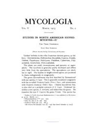 Mycologia : 1913 Mar. No. 2, Vol. 5 Volume Vol. 5 by