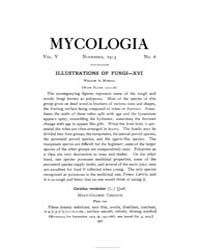 Mycologia : 1913 Nov. No. 6, Vol. 5 Volume Vol. 5 by
