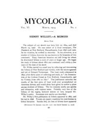Mycologia : 1914 Mar. No. 2, Vol. 6 Volume Vol. 6 by