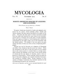 Mycologia : 1914 Nov. No. 6, Vol. 6 Volume Vol. 6 by