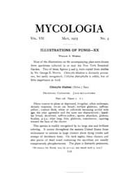 Mycologia : 1915 May No. 3, Vol. 7 Volume Vol. 7 by