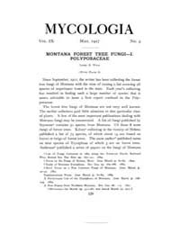 Mycologia : 1917 May No. 3, Vol. 9 Volume Vol. 9 by