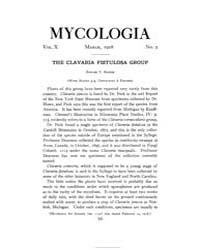 Mycologia : 1918 Mar. No. 2, Vol. 10 Volume Vol. 10 by