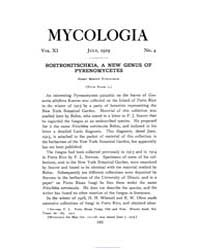 Mycologia : 1919 Jul. No. 4, Vol. 11 Volume Vol. 11 by