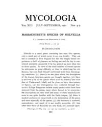 Mycologia : 1921 Jul.-sep. No. 4 5, Vol.... Volume Vol. 13 by