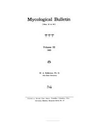 Mycological Bulletin : 1905 Aug. 1 No. 3... Volume Vol. 3 by