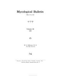 Mycological Bulletin : 1905 Jan. 1 No. 2... Volume Vol. 3 by