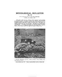 Mycological Bulletin : 1905 Mar. 1 No. 2... Volume Vol. 3 by