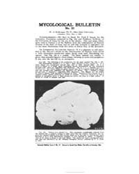 Mycological Bulletin : 1905 May 1 No. 33... Volume Vol. 3 by