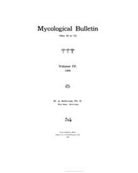 Mycological Bulletin : 1906 Dec. No. 71 ... Volume Vol. 4 by