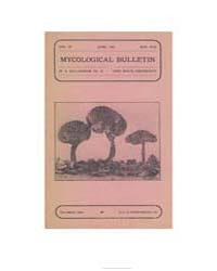 Mycological Bulletin : 1906 Jun. No. 59 ... Volume Vol. 4 by