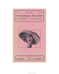 Mycological Bulletin : 1906 Oct. No. 67 ... Volume Vol. 4 by