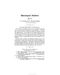 Mycological Bulletin : 1907 May No. 77, ... Volume Vol. 5 by