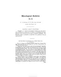 Mycological Bulletin : 1907 Oct. No. 82,... Volume Vol. 5 by
