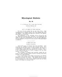 Mycological Bulletin : 1908 Feb. No. 86,... Volume Vol. 6 by