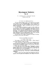 Mycological Bulletin : 1908 Mar. No. 87,... Volume Vol. 6 by