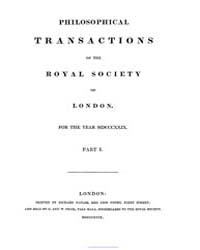 Philosophical Transactions of the Royal ... by