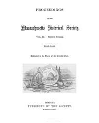 Proceedings of the Massachusetts Histori... by
