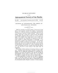 Publications of the Astronomical Society... by