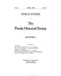 Publications of the Florida Historical S... by