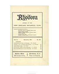 Rhodora ; Volume 21 : No 251 : Nov : 191... by