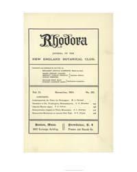 Rhodora ; Volume 21 : No 251 : Nov : 191... by
