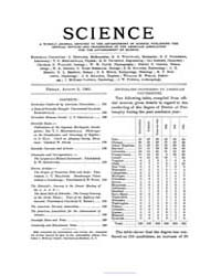 Science ; Volume 14 : No 344 : Aug 2 : 1... by