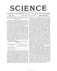 Science ; Volume 16 : No 408 Nov 1890 by