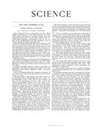 Science ; Volume 22 : No 569 Dec 1893 by