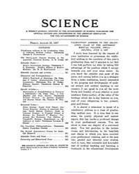 Science ; Volume 26 : No 660 : Aug 23 : ... by