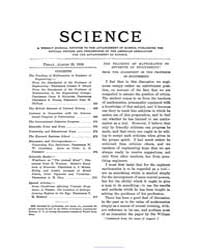 Science ; Volume 28 : No 713 : Aug 28 : ... by