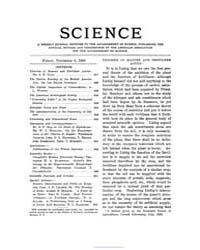 Science ; Volume 28 : No 723 : Nov 6 : 1... by
