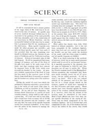 Science ; Volume 2 : No 40 : Nov 9 : 188... by