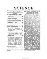 Science ; Volume 36 : No 932 : Nov 8 : 1... by