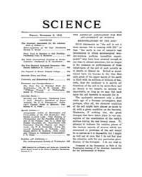 Science ; Volume 36 : No 932 : Nov 8 : 1... by