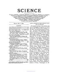 Science ; Volume 3 : No 70 : May 1 : 189... by