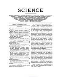 Science ; Volume 4 : No 99 : Nov 20 : 18... by