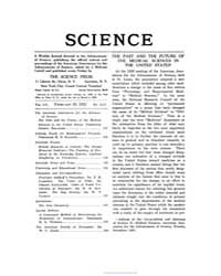 Science ; Volume 55 : No 1415 : Feb 10 :... by