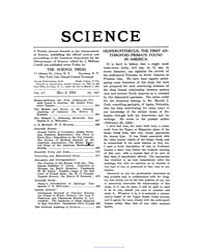 Science ; Volume 55 : No 1427 : May 5 : ... by