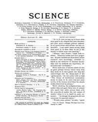 Science ; Volume 9 : No 213 : Jan 27 : 1... by