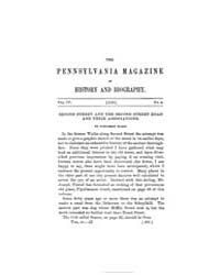 The Pennsylvania Magazine of History and... by