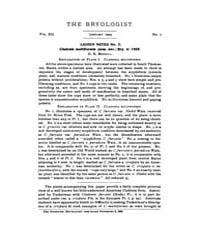 The Bryologist : 1909 ; Jan. No. 1 Vol. ... Volume Vol. 12 by Goffinet, Bernard
