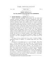 The Bryologist : 1910 ; Mar. No. 2 Vol. ... Volume Vol. 13 by Goffinet, Bernard