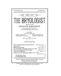 The Bryologist : 1917 ; May No. 3 Vol. 2... Volume Vol. 20 by Goffinet, Bernard