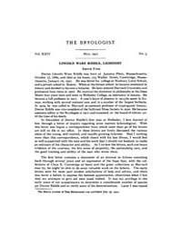 The Bryologist : 1921 ; May No. 3 Vol. 2... Volume Vol. 24 by Goffinet, Bernard