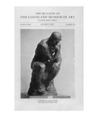 The Bulletin of the Cleveland Museum of ... Volume Vol. 4 by Badger, Joseph