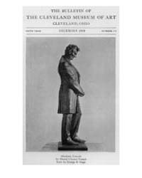 The Bulletin of the Cleveland Museum of ... Volume Vol. 6 by Badger, Joseph